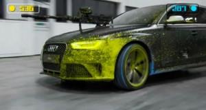Audi RS4 Avant - Duelo de paintBall